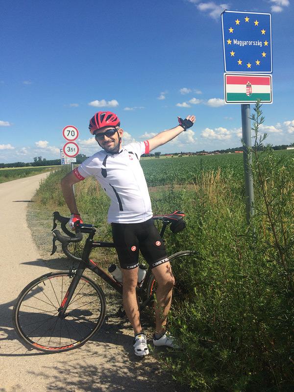 Я на кордоні Австрії та Угорщини © Julia Tykhan